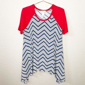 The ZigZag Stripe Chevron Top